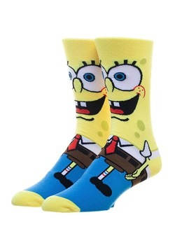 Spongebob 360 Charcter Crew Sock