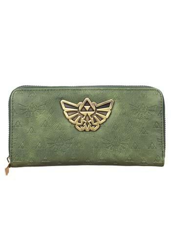Zelda PU Zip Around Wallet Update