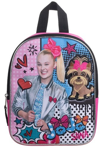 "Jojo Siwa 10"" Plush Kids Backpack"