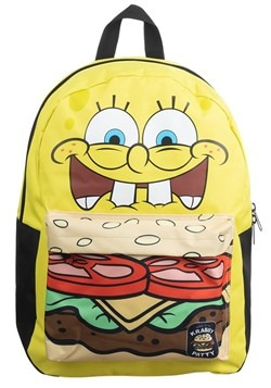 Spongebob Squarepants Crabby Patty Mixbock Backpack