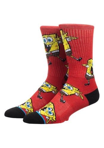 Spongebob All Over Print Athletic Crew Sock
