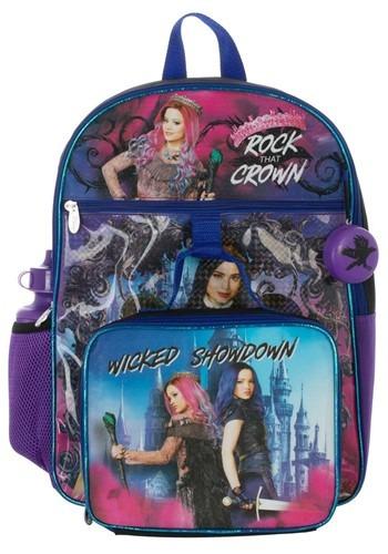 Descendants 5 Pc Backpack Set