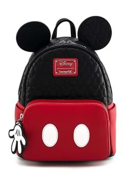 Disney Loungefly Mickey Mouse Quilted Mini Backpack