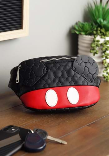 Loungefly Mickey Mouse Quilted Cosplay Fanny Pack-update