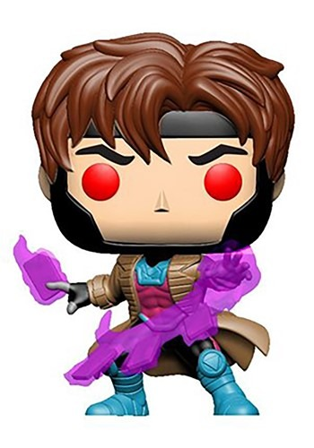 Pop! Vinyl: X-Men Gambit Glow-In-The-Dark Figure 1