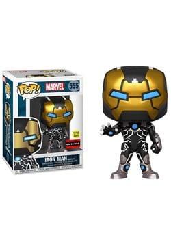 Iron Man Model 39 Glow-in-the-Dark Pop! Vinyl Figure - Exclu
