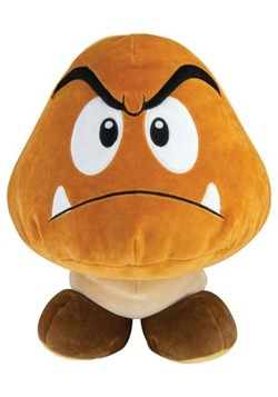 "Super Mario Goomba 15"" Club Moochi Moochi Plush"