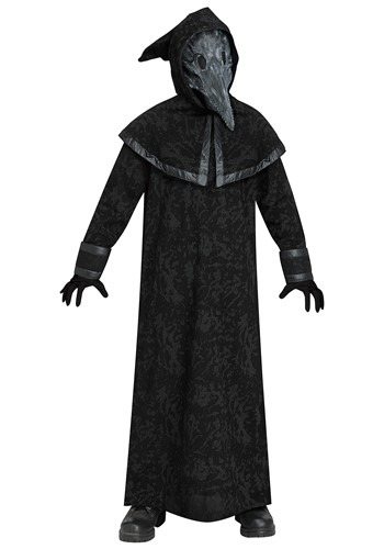 Kid's Dark Plague Doctor Costume