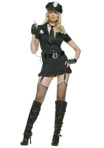 Womens Dirty Cop Costume