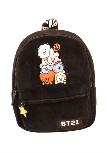BT21 Group Emblem Mini Backpack