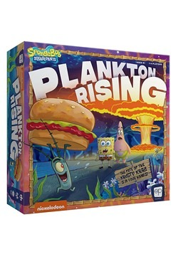Spongebob: Plankton Rising Board Game