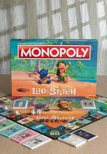 MONOPOLY Disney Lilo & Stitch Edition Game