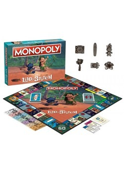MONOPOLY Disney Lilo & Stitch Edition Game Alt 1
