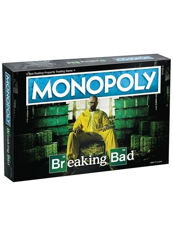 MONOPOLY Breaking Bad Edition Board Game