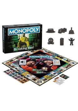 MONOPOLY Breaking Bad Edition Game Alt 1