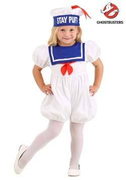 Ghostbusters Toddler Stay Puft Bubble Costume