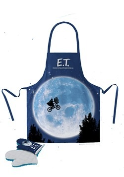 E.T. The Extra Terrrestrial Apron and Oven Mitt