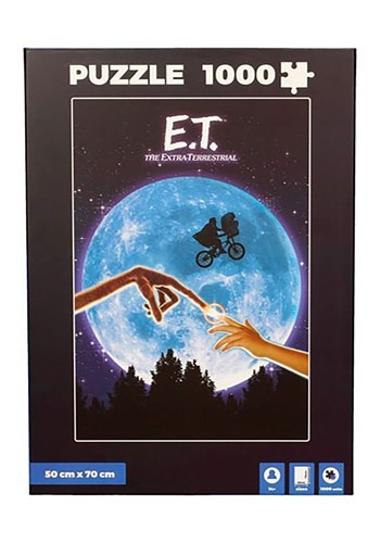 E.T. The Extra Terrrestrial 1000 Piece Puzzle