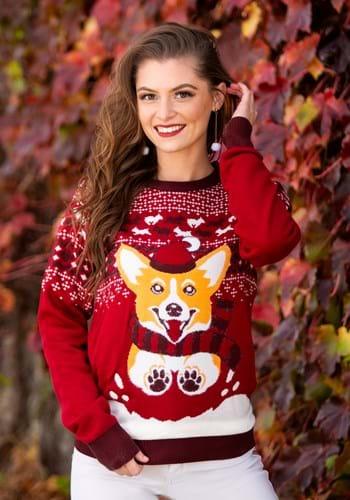 A Very Corgi Christmas Ugly Christmas Sweater Main UPD