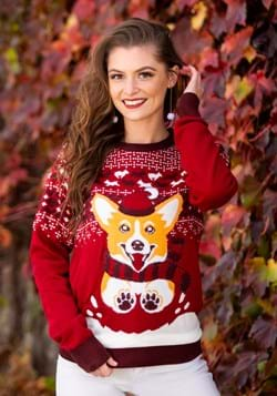 A Very Corgi Christmas Ugly Christmas Sweater Main UPD