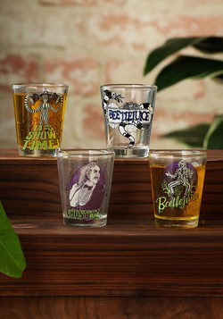 Beetlejuice 4pc Shot Glass Set Photo Update