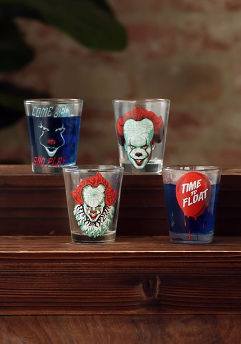 IT 4 Pc Shot Glass Drinkware Set Update