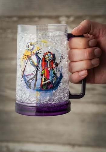 Jack and Sally 16oz Freeze Gel Plastic Mug Upd