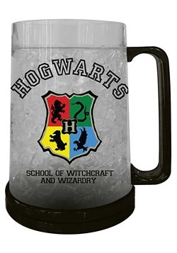 HOGWARTS CREST 16oz FREEZE GEL PLASTIC MUG