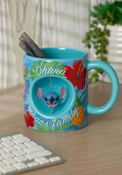 STITCH 20oz JUMBO CERAMIC MUG w/SPINNER