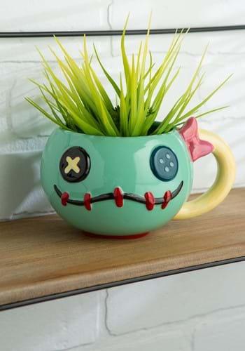 Ceramic Lilo and Stitch Scrump 3D Mug