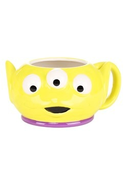TOY STORY ALIEN PLAYTIME FACE 3D SCULPTED MUG