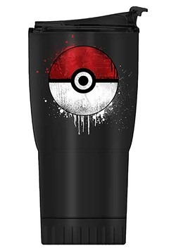 POKEBALL 20oz DOUBLE WALL STAINLESS STEEL TUMBLER
