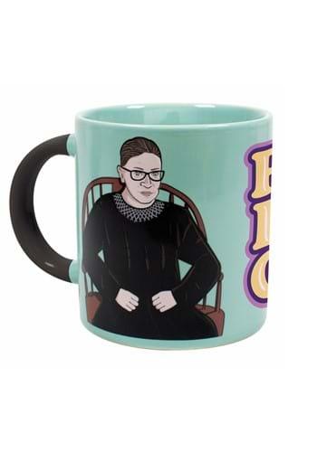Ruth Bader Ginsburg Heat Transforming 12 oz Ceramic Mug