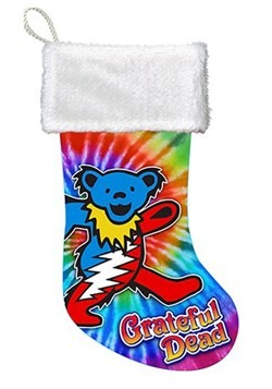 Grateful Dead Bear Printed Satin Stocking