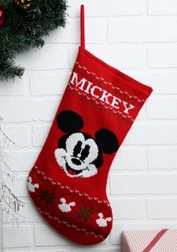 Mickey Mouse Knitted Stocking