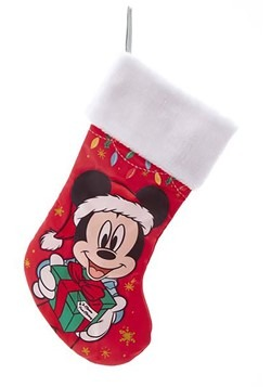 Mickey Mouse w/ Present Stocking