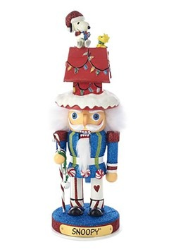 Peanuts Hollywood Snoopy and Dog House Nutcracker