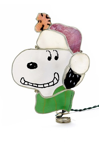 Peantus Snoopy Lighted Treetopper