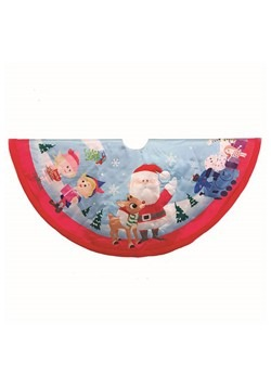Rudolph & Friends Tree Skirt