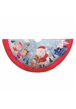 Rudolph & Friends Tree Skirt