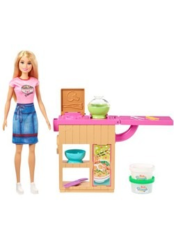 Barbie Noodle Bar Blonde Doll