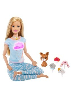 Barbie Breathe with Me Blonde Meditation Doll