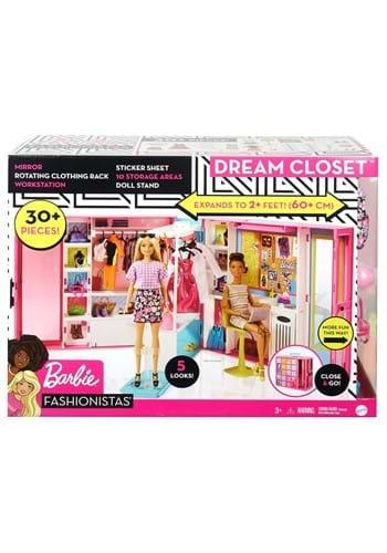 Barbie Dream Closet and Doll