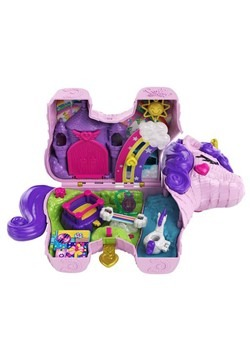 Polly Pocket Rainbow Unicorn Surprise