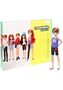 Creatable World Deluxe Character Kit Customizable Doll Blond