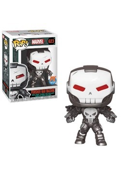Pop Marvel Punisher War Machine Previews Exclusive Figure
