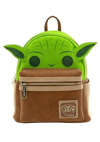 Pop! by Loungefly Star Wars Yoda Cosplay Mini Backpack