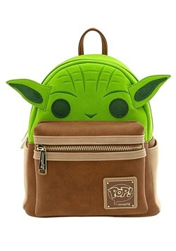 Pop! by Loungefly Star Wars Yoda Cosplay Mini Backpack