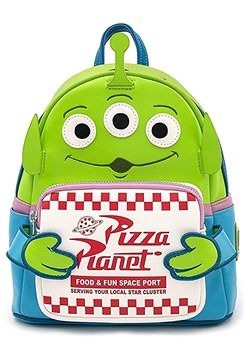 Loungefly Toy Story Alien Pizza Box Mini Backpack