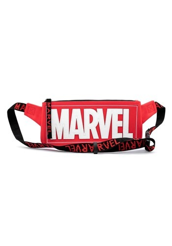 Loungefly MARVEL Logo Red Fanny Pack
